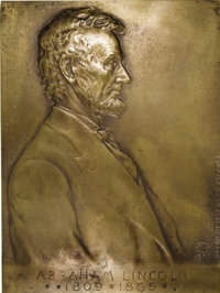 1907 Victor D. Brenner Lincoln Plaque....(PCGS# 2423)
