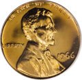 SMS Lincoln Cents, 1966 1C SMS MS67 Cameo PCGS....