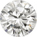 Estate Jewelry:Unmounted Diamonds, Unmounted Diamond. The round brilliant-cut diamond measures 6.27 -6.36 x 3.84 mm and weighs 0.93 carat. An AGS Laboratory... (Total:1 Item)