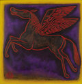 Texas:Early Texas Art - Modernists, PERRY BROOKS NICHOLS (b. 1981). Night Pegasus, 2007. Oil onlinen. 50-3/4 x 49-1/2 inches (128.9 x 125.7 cm). Signed and...