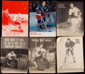 Autographs:Photos, Hockey Greats Signed Picture Collection (10)....