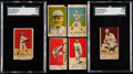 Baseball Cards:Sets, 1921 W516-2-2 Baseball Complete Set (30). ...