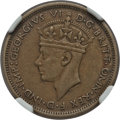 British West Africa, British West Africa: British Colony. George VI Shilling 1946-H XF45NGC,...