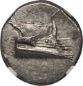 Ancients:Greek, Ancients: LYCIA. Phaselis. Ca. 4th century BC. AR stater (23mm,10.23 gm, 6h). NGC MS 4/5 - 4/5....