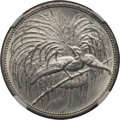 German New Guinea, German New Guinea: German Colony. Wilhelm II 5 Mark 1894-A UNCDetails (Polished) NGC,...