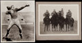 "Football Collectibles:Photos, Paul Hornung and ""Four Horsemen"" Vintage Photographs Lot of 2...."