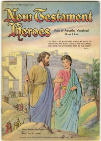 New Testament Stories Visualized - New Testament Heroes Book One #1055 (Standard, 1946) Condition: FN-