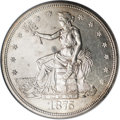 Trade Dollars, 1875-S/CC T$1 MS61 NGC....