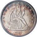 1842 50C Small Date, Large Letters MS63 PCGS....(PCGS# 6240)