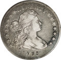 Early Dollars, 1795 $1 Draped Bust, Off Center XF45 NGC....