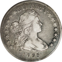 1795 $1 Draped Bust, Off Center XF45 NGC....(PCGS# 96858)