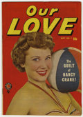 Golden Age (1938-1955):Romance, Our Love #1 (Marvel, 1949) Condition: FN/VF....