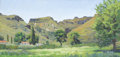 Texas:Early Texas Art - Impressionists, STEFAN PASTUHOV (living). Lower Espy's Ranch, 2004. Oil oncanvas. 24 x 48 inches (61.0 x 121.9 cm). Signed lower right...