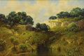 Texas:Early Texas Art - Impressionists, A. D. GREER (1904-1998). Untitled Water Hole. Oil on canvas. 24 x36 inches (61.0 x 91.4 cm). Signed lower right. ...