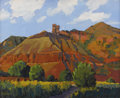 Texas:Early Texas Art - Impressionists, STEFAN PASTUHOV (living). Palo Duro Hoo Doos, 2004. Oil onmasonite. 16 x 20 inches (40.6 x 50.8 cm). Signed lower left...