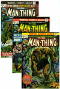Bronze Age (1970-1979):Horror, Man-Thing #1-22 Group (Marvel, 1974-75) Condition: Average VF+....(Total: 22 Comic Books)
