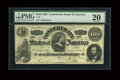 Confederate Notes:1862 Issues, T49 $100 1862 Cr-348 PF-2.. ...