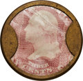 Encased Postage: , HB-5 EP-32 3¢ Ayer's Pills Extremely Fine. . ...