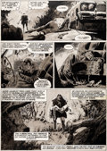 Original Comic Art:Panel Pages, Val Mayerik Monsters Unleashed #9 Frankenstein 1974 OriginalArt (Marvel, 1974)....