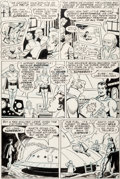 Original Comic Art:Panel Pages, George Papp and Chic Stone Superboy #137 Story Page 13Original Art (DC, 1967)....