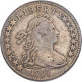 Early Dimes, 1797 10C 16 Stars, JR-1, R.4 -- Surfaces Tooled -- PCGS Genuine....