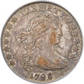 Early Dimes, 1798 10C Large 8, JR-4, R.3, XF45 PCGS....