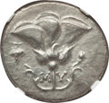 Ancients:Greek, Ancients: CARIA. Mylasa. Ca. 175-150 BC. AR tetradrachm (9.41 gm).NGC Choice XF 3/5 - 3/5....
