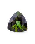 Gems:Faceted, Gemstone: Tourmaline - 5.97 Cts.. Brazil. 12.1 x 12.1 x 7.1mm. ...
