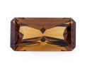 Gems:Faceted, Gemstone: Dark Citrine - 16.55 Cts.. Africa. 11.9 x 23.1 x 9.2 mm. ...