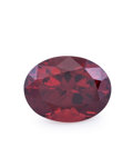 Gems:Faceted, Gemstone: Rhodolite Garnet - 4.23 Cts.. Tanzania. 8.3 x 10.9 x6.2 mm. ...