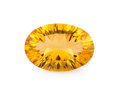 Gems:Faceted, Gemstone: Citrine - 7.51 Cts.. Brazil. 11.5 x 16.5 x 7.1 mm....