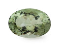 Gems:Faceted, Gemstone: Prasiolite - 29.06 Cts.. Brazil. 17.2 x 24.7 x 12.5mm. ...