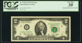 Error Notes:Mismatched Prefix Letters, Fr. 1935-B $2 1976 Federal Reserve Note. PCGS Very Fine 30.. ...