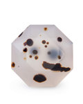 Gems:Faceted, Gemstone: Agate - 19.73 Cts.. Montana, USA. 18.1 x 18.1 x 12.2mm. ...