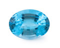 Gems:Faceted, Gemstone: Blue Topaz - 20.69 Cts.. Brazil. 14.2 x 18.9 x 10 mm. ...
