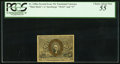 Fractional Currency:Second Issue, Fr. 1286a 25¢ Second Issue Slate Back PCGS Choice About New 55.. ...
