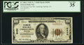 National Bank Notes:Pennsylvania, Cambridge Springs, PA - $100 1929 Ty. 1 The Springs-First NB Ch. #9430. ...
