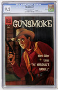 Silver Age (1956-1969):Western, Four Color #769 Gunsmoke - File Copy (Dell, 1957) CGC NM- 9.2 Cream to off-white pages....
