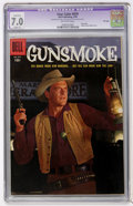 Golden Age (1938-1955):Western, Four Color #679 Gunsmoke - File Copy (Dell, 1956) CGC Apparent FN/VF 7.0 Slight (P) Off-white pages....
