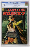 Golden Age (1938-1955):Miscellaneous, Four Color #496 Green Hornet (Dell, 1953) CGC FN/VF 7.0 Off-white to white pages....