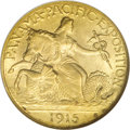 Commemorative Gold, 1915-S $2 1/2 Panama-Pacific Quarter Eagle MS67 NGC....