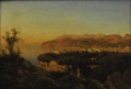 Fine Art - Painting, European:Antique  (Pre 1900), GIACINTO GIGANTE (Italian 1806-1876). Sorrento, PanoramicView. Oil on board. 7-1/2 x 10-1/2 inches (19.1 x 26.7 cm).Un...