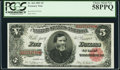 Large Size:Treasury Notes, Fr. 364 $5 1891 Treasury Note PCGS Choice About New 58PPQ.. ...