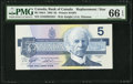 Canadian Currency: , BC-56dA $5 1986 ANH Replacement. ...