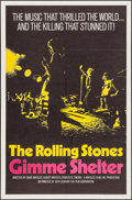 """Movie Posters:Rock and Roll, Gimme Shelter (20th Century Fox, 1970). One Sheet (27"""" X 41""""). Rockand Roll.. ..."""