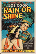 "Movie Posters:Drama, Rain or Shine (Columbia, 1930). One Sheet (27"" X 41""). Drama.. ..."