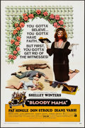 Movie Posters:Crime, Bloody Mama (American International, 1970). Folded, Very F...