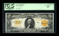 Large Size:Gold Certificates, Fr. 1187 $20 1922 Gold Certificate PCGS Very Choice New 64....
