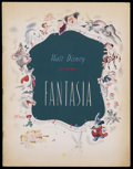 Movie Posters:Animated, Fantasia (RKO, 1940). Program (Multiple Pages). This is a vintage, original program for Walt Disney's animated masterpiece t...
