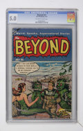 Golden Age (1938-1955):Horror, The Beyond #21 (Ace, 1953) CGC VG/FN 5.0 Off-white to whitepages....